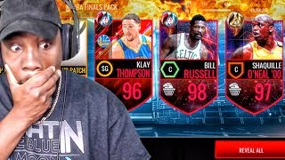 EPIC NBA FINALS PACK OPENING & FINALS MASTER ELITES! NBA Live Mobile 16 Gameplay Ep. 121
