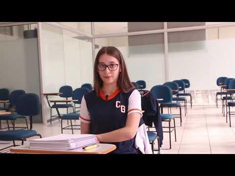 Caroline Beatriz França, aluna do 8° ano