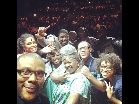 TYLER PERRY'S REHEARSAL GOES TO CHURCH!