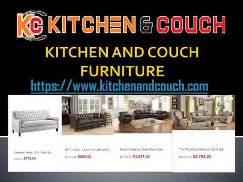 Kitchen And Couch Furniture