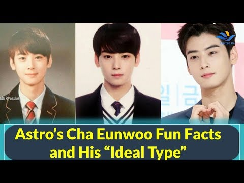 "Astro's Cha Eunwoo Fun Facts and His ""Ideal Type"""