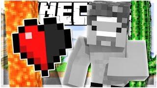 OMG DON'T DIE! | Half Heart Race | Minecraft Map