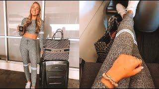 travel vlog: flying to coachella!!