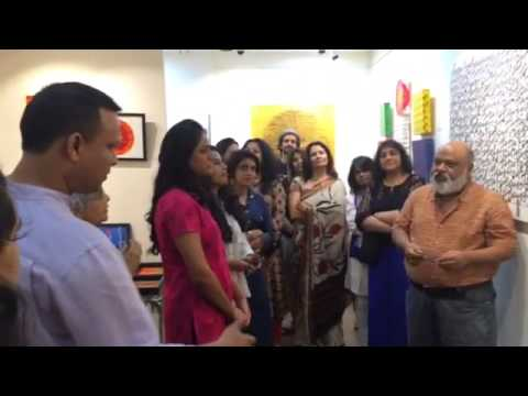 'Aham Brahmaasmi' show of Manjri Varde @ AMFAH Art Studio, Mumbai.