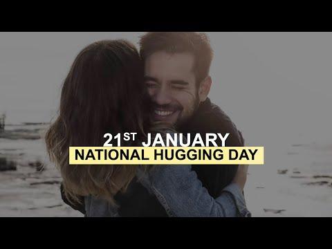 21 януари - Международен ден на прегръдката