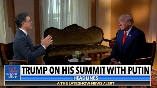 Stephen Interviews Sean Hannity's Interview Of Donald Trump