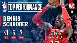 Dennis Schroder's ELECTRIC Performance vs The Jazz