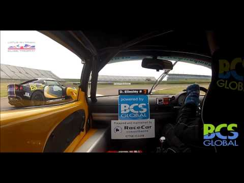 David Ellesley for BCS Global - Lotus Trophy - Rockingham May 2015