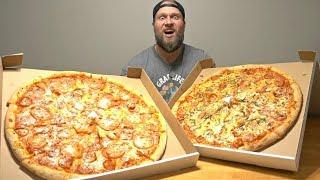 """GIANT 21"""" Pizza Food Challenge"""
