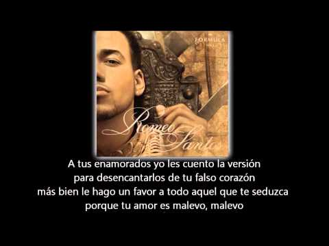 Romeo Santos - Malevo (lyric - letra)