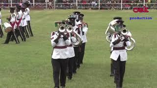 see the administration police band display at ASK Nairobi Show 2018