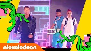 John Cena's EPIC Intro w/ Backpack Kid, Jason Facey & More! 🕺| Kids' Choice Awards 2018 | Nick
