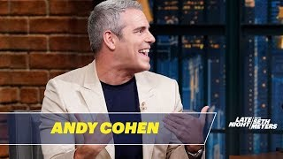 Andy Cohen Embarrassed Anderson Cooper at LaGuardia Airport