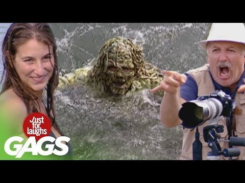 River Monsters Pranks – Best of Just For Laughs Gags
