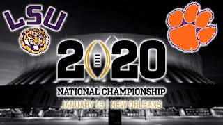 LSU vs Clemson Football 2020 National Championship Game Highlights