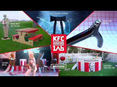 KFC Innovations Lab was created to bring more of the company's most innovative marketing ideas to life by providing fans, or anyone that just wants to see if KFC can really pull this off, an opportunity to help turn these ideas into a reality.