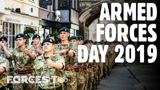 Armed Forces Day 2019: How Salisbury Celebrated The National Event | Forces TV