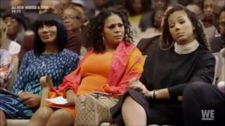 The Braxtons Sing in Church & Tamar's Praise and Worship