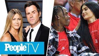 Jennifer Aniston & Justin Theroux Split, Kylie Jenner & Travis Scott Return To Snapchat | PeopleTV
