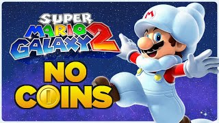 Is it possible to beat Super Mario Galaxy 2 without touching a single coin?