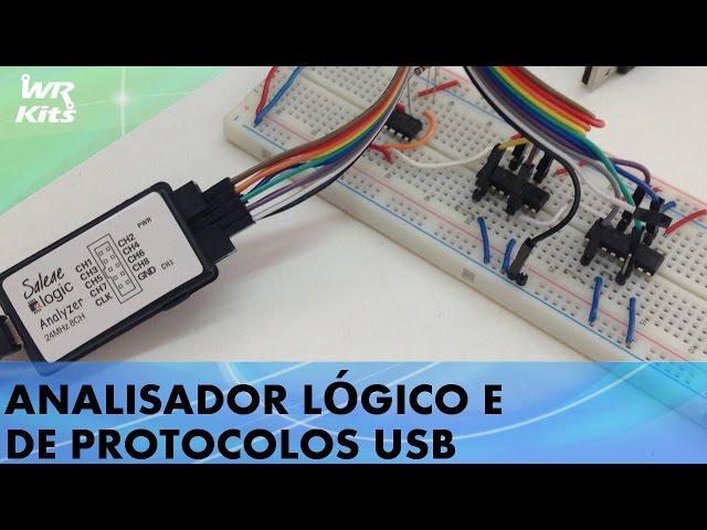 ANALISADOR LÓGICO E DE PROTOCOLOS USB