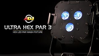 AMERICAN DJ Ultra Hex Par3 in action