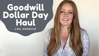 Goodwill Dollar Day Haul Los Angeles - Poshmark & eBay