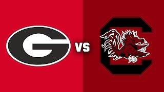 #3 Georgia vs. #24 South Carolina | 2018 CFB Highlights