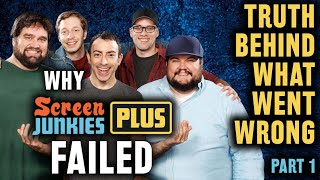 Why Screen Junkies Plus Failed - The Truth Behind What Happened to SJ+ Streaming Service - Part 1