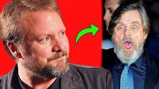 Rian Johnson Insultó a Mark Hamill en Público? - Star Wars