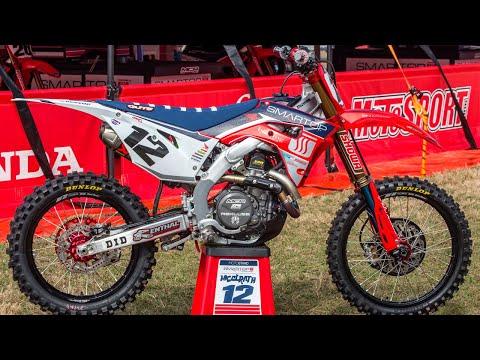 Inside Shane McElrath's MotoConcepts Honda CRF450 - Motocross Action Magazine