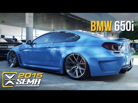 SEMA 2015   BMW 650i   Vossen Wheels