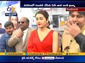 Raashi Khanna launches Big C Mobile store at Vijayawada