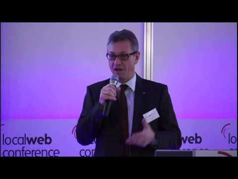 Rede: Siegfried Schneider eröffnet die Local Web Conference 2013