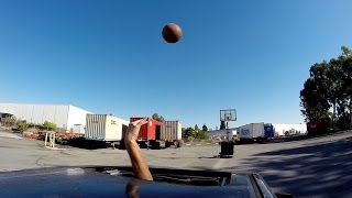 GoPro: Moonroof Trick Shot - Basketball