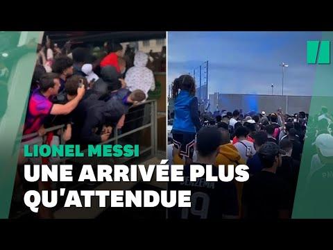Lionel Messi au PSG: ces supporters l'ont attendu à l'aéroport du Bourget en vain