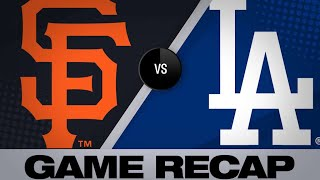 Freese's late heroics lift Dodgers to win - 4/3/19