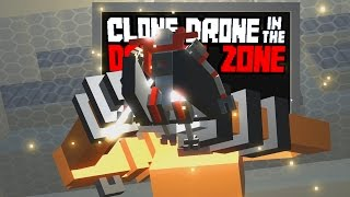Defeating the Random Upgrade Challenge! -  Clone Drone in the Danger Zone Gameplay