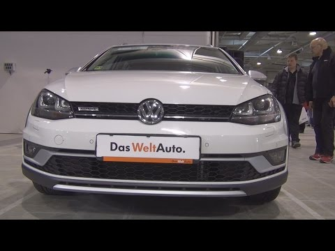Volkswagen Golf Alltrack 1.6 TDI BMT 4MOTION (2015) Exterior and Interior in 3D