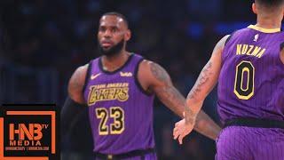 Los Angeles Lakers vs Portland Trail Blazers 1st Qtr Highlights   11.14.2018, NBA Season
