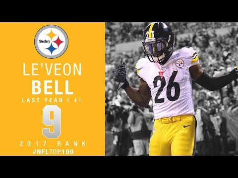 #9: Le'Veon Bell (RB, Steelers)   Top 100 Players of 2017   NFL