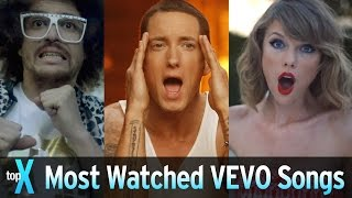 Top 10 Most Watched VEVO Songs
