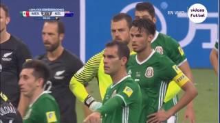 Hỗn chiến Vòng loại Confed Cup 2017, Cầu thủ Mexico và New Zealand đánh nhau tại SVĐ!