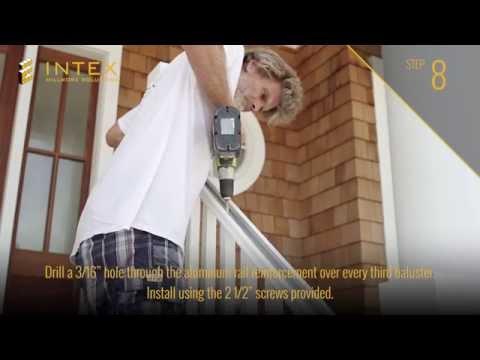 INTEX Hampton Stair Rail Install Oct14