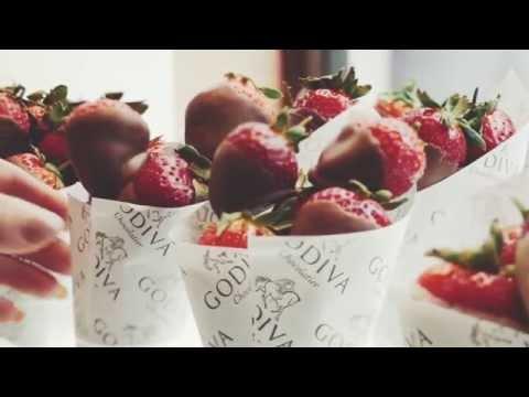 Godiva chocolate dipped British strawberries