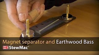Watch the Trade Secrets Video, Helpful repair magnet gizmo, and 1970s Earthwood Bass!
