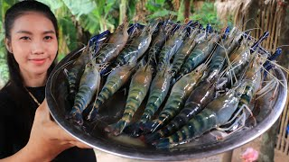 How to cook river Shrimp roasted with chili sauce recipe