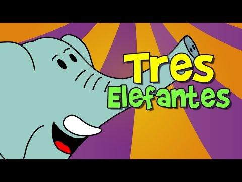 tres elefantes se balanceaban (canción infantil)