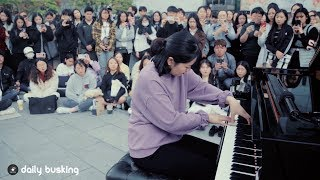 Most Difficult Piano Piece Ever - Liszt 'Tarantella' With Street Piano