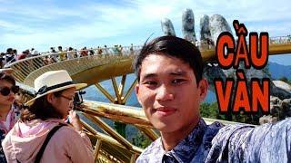 Cận cảnh cây cầu vàng đẹp nhất Việt Nam|du lịch BÀ NÀ HILLS
